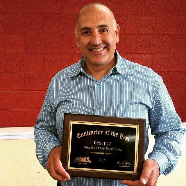 Bay Area Contractor Of The Year 2015 - APWA Silicon Valley