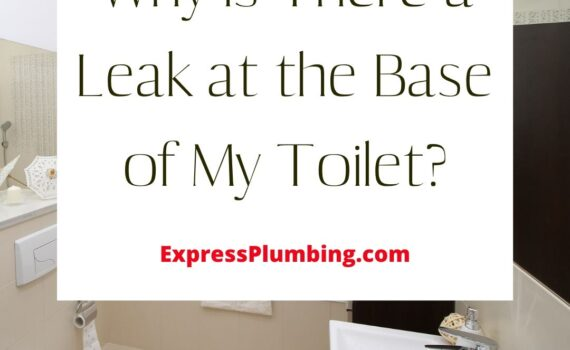 Toilet Base Leak